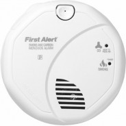 First Alert Combination Alarm (Smoke and Carbon Monoxide) with 5-Year Guarantee