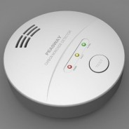CARBON MONOXIDE ALARM/DETECTOR INCLUDES BATTERY 5 YEAR LIMITED WARRANTY CE APPROVED