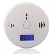 LCD CO Carbon Monoxide Alarm Gas Sensor Warning Alarm Detector