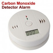 Home Security Safe CO Carbon Monoxide Smoke Gas Alarm Sensor LCD Monitor Detector FamilyMall
