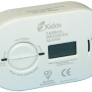 Kidde 5DCO-0230 BSI Battery Premium Range Carbon Monoxide Alarm with Digital Display