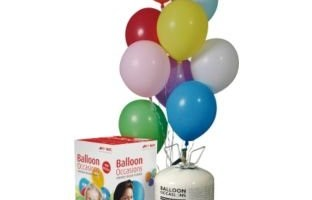 Disposable Helium Balloon Gas Cylinder and Balloons (IC853AG)