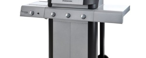 Landmann Cronos 3 Burner Gas Barbecue with Side Burner 12771