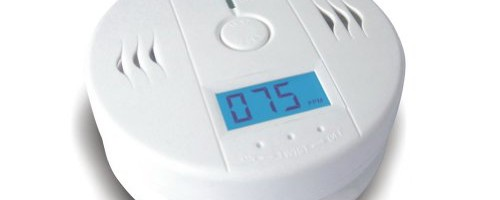 AUBIG LCD CO Carbon Monoxide Detector Home Security Natural Gas Tester Sensor Alarm Siren
