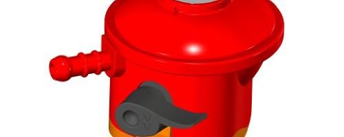 Home & Garden Direct Clip On Propane Gas Regulator For Patio Gas Bottles