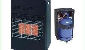 4.2KW Calor Gas Heater Portable Cabinet Butane Fire w/ Regulator & Hose Home NEW