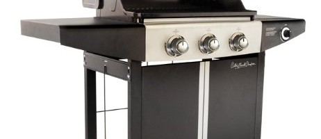 Antony Worrall Thompson Patriach 3-Burner Gas BBQ with Side Burner
