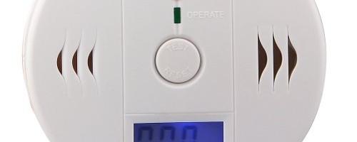 LCD CO Carbon Monoxide Alarm Gas Sensor Warning Alarm Detector
