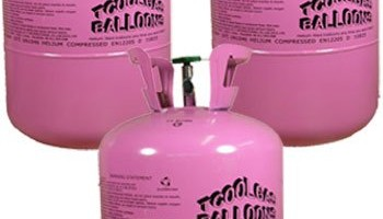 Disposable Helium Gas Cylinder – 30 Balloon Cylinder – Pack of 3