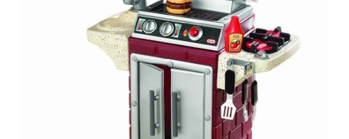 Little Tikes Backyard Barbeque Get Out 'N Grill with with dual grills, lid sink and side burner Toy / Game / Play / Child / Kid
