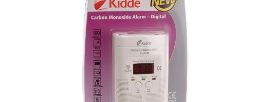 Kidde KNCOPD3UK Carbon Monoxide Alarm Digital Main Powered (with Battery Back Up)