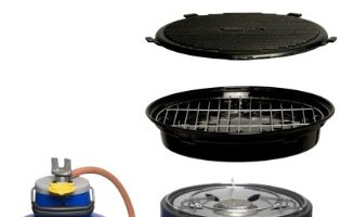 CADAC Safari Chef 4-in-1 complete BBQ