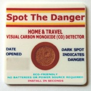 Carbon Monoxide Detector Visual – Great for travel or around the home