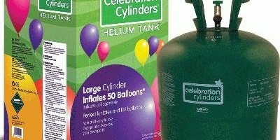 Helium Gas Cylinders Large (No Balloons)