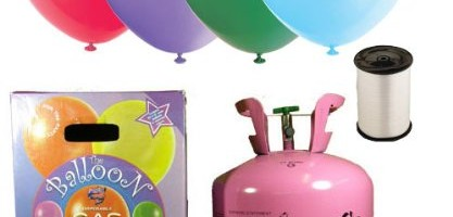 Disposable Helium Gas Balloon Cylinder 50 free balloons