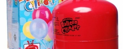 Disposable Helium Gas Cylinder – 50 Balloon Cylinder – Single