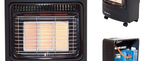 Portable Gas Cabinet Heater 4.2kW